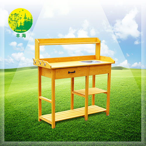 Wooden work bench for gardening  FHG-19004